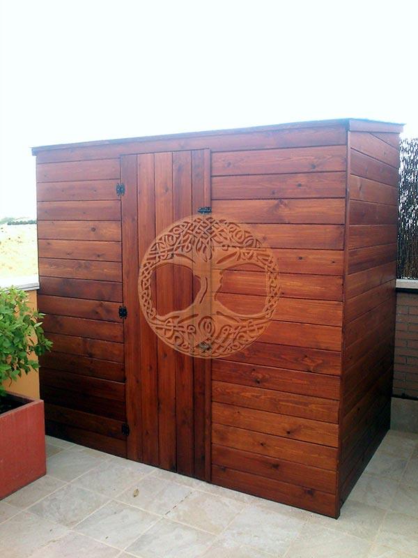 Casetas de madera en madrid armarios de madera para exterior for Casetas para exterior de segunda mano