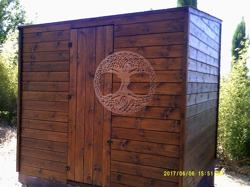 Casetas de madera en madrid armarios de madera para exterior for Casetas para exterior
