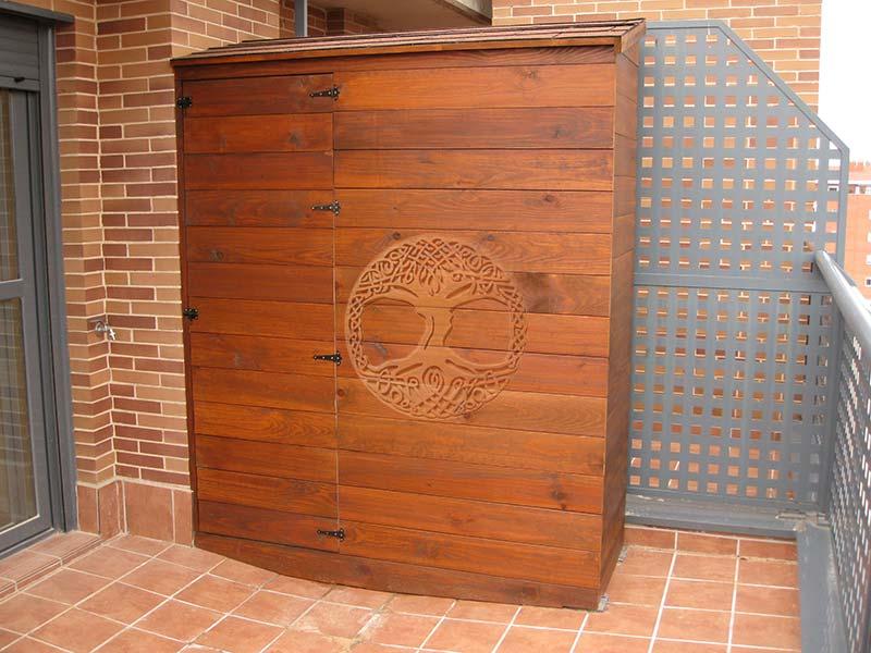 Artesanato Lucrativo Marcely Fernandes ~ Casetas de madera en Madrid Armarios de madera para exterior