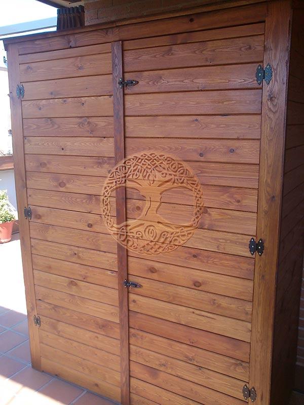 Casetas de madera en madrid armarios de madera para exterior - Casetas de madera para terraza ...