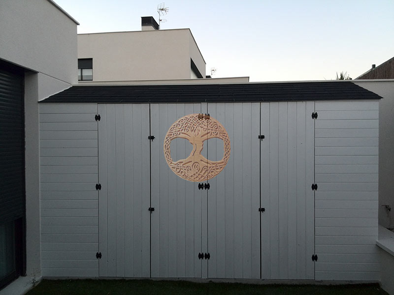 Casetas de madera en madrid armarios de madera para exterior for Casetas para almacenaje exterior