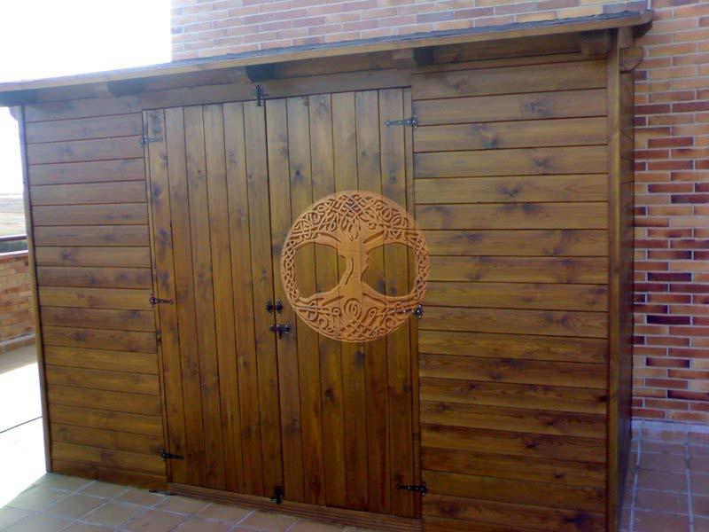 Casetas de madera en madrid armarios de madera para exterior - Casetas exterior baratas ...