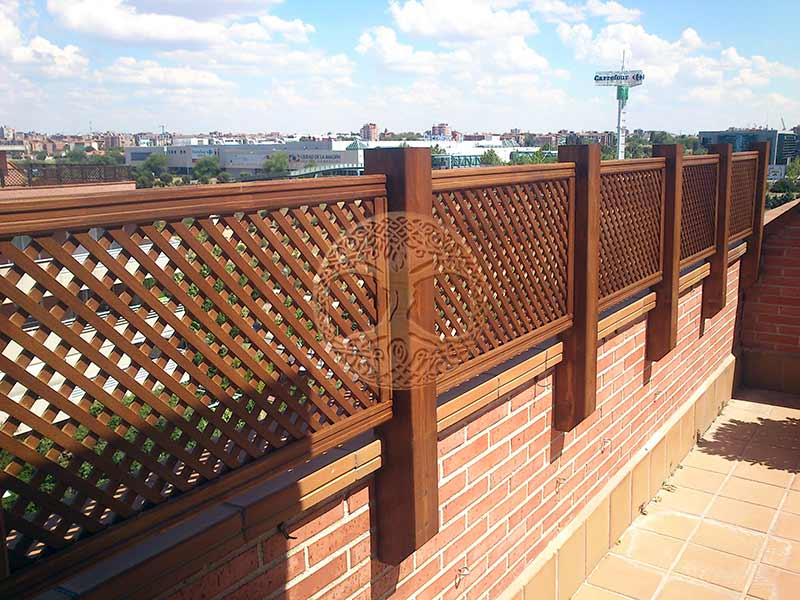 Madera para terrazas exteriores beautiful terrazas with for Terraza madera exterior
