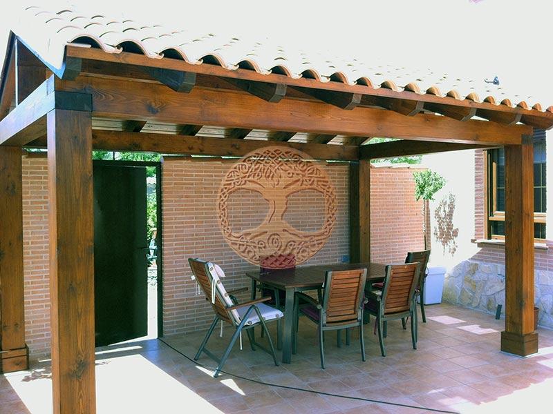 Cenadores de madera precios fabulous prgolas porches y prgolas de madera cenadores y tarima de - Cenadores bricodepot ...
