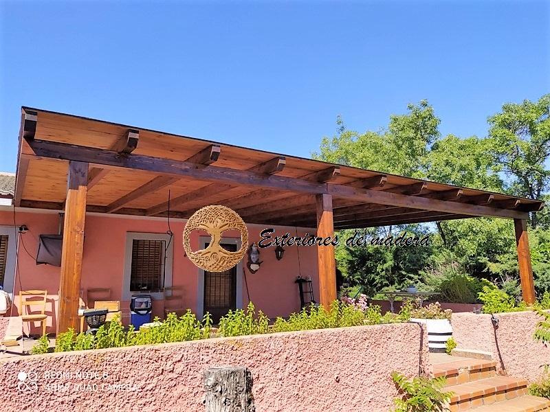 Porches de madera madrid precio porches desde 90 m2 - Madera para porches ...