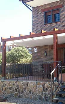 Porches de madera-Pergolas-Cenadores-Celosías-Suelos ... - photo#23