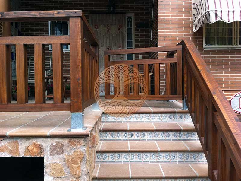 Barandillas de exterior conoce nuestros productos with for Barandilla escalera exterior