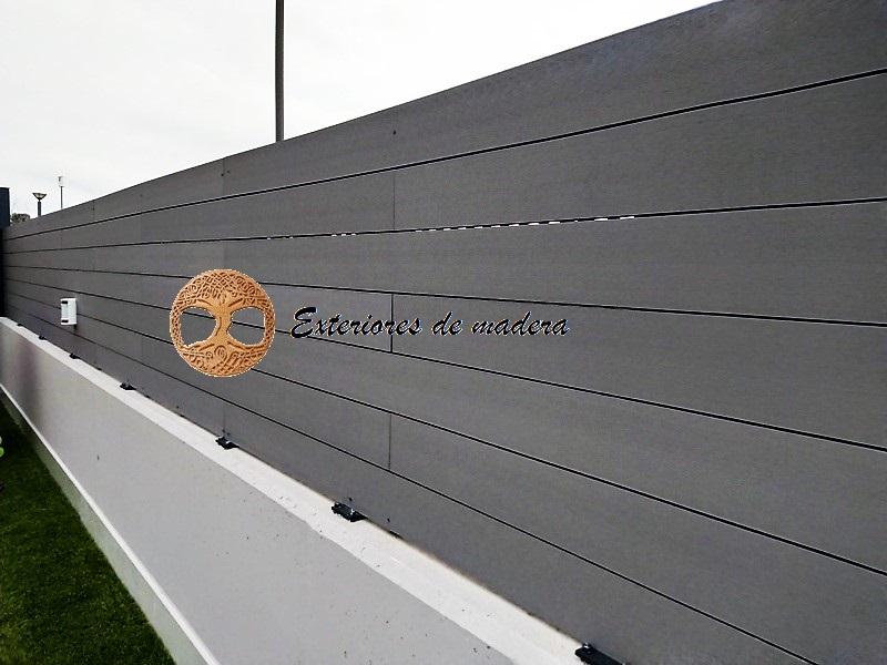 Vallas de madera en madrid desde 60 el m2 for Barandillas de madera para jardin