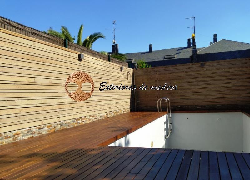 Barandillas de madera para jardin perfect barandillas de for Barandillas de madera para jardin